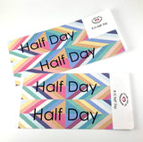 R13 || Retro Half Day Full Day Stickers
