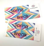 R24 || Retro Spring Break Full Day Stickers