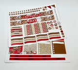 HP12 || December Gingerbread Happy Planner Teacher Kit
