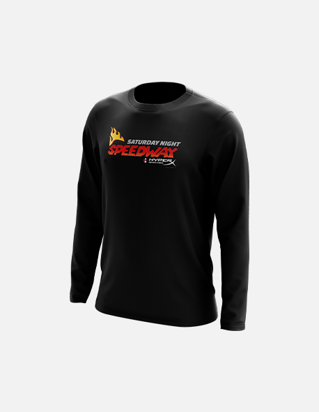 Saturday Night Speedway Long Sleeve Tee