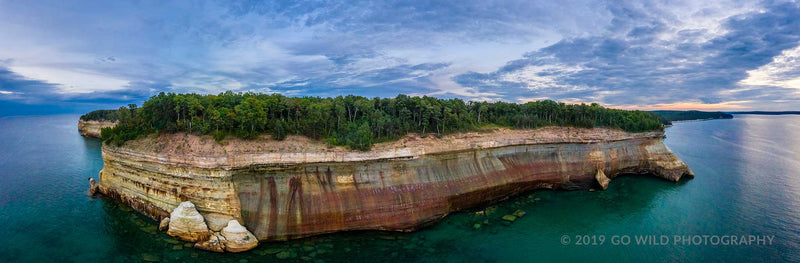 Pictured Rocks National Shoreline - Go Wild Photography [description]  [price]