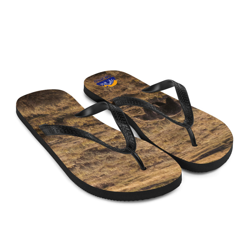 Grizzly Flip-Flops - Go Wild Photography [description]  [price]