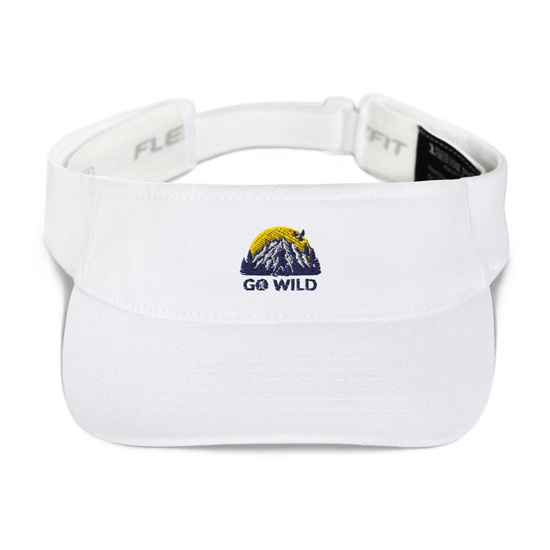 Go Wild Logo Visor - Go Wild Photography [description]  [price]