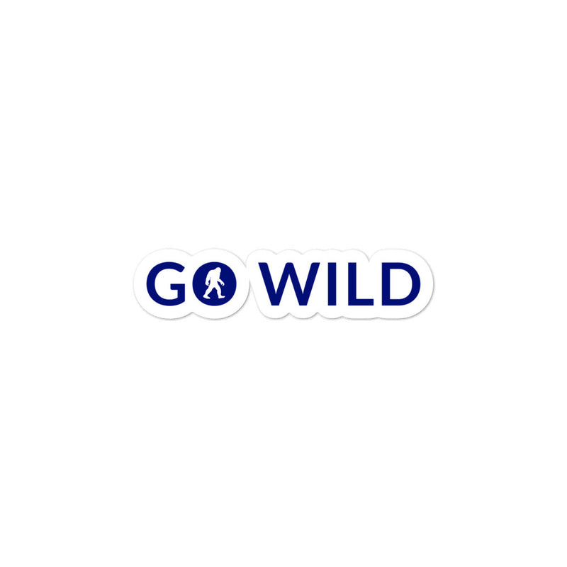 Go Wild Bubble-free stickers - Go Wild Photography [description]  [price]