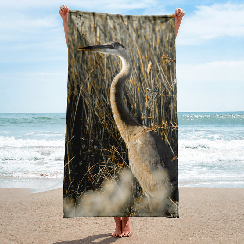 Heron Towel - Go Wild Photography [description]  [price]