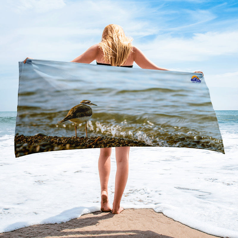 Sandpiper Towel - Go Wild Photography [description]  [price]