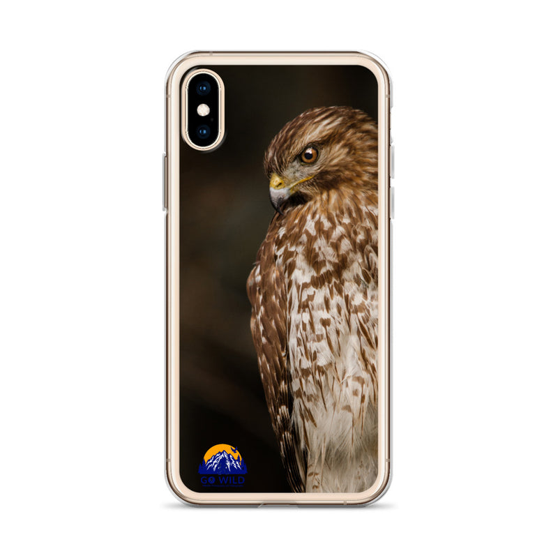 Red Shouldered Hawk iPhone Case - Go Wild Photography [description]  [price]