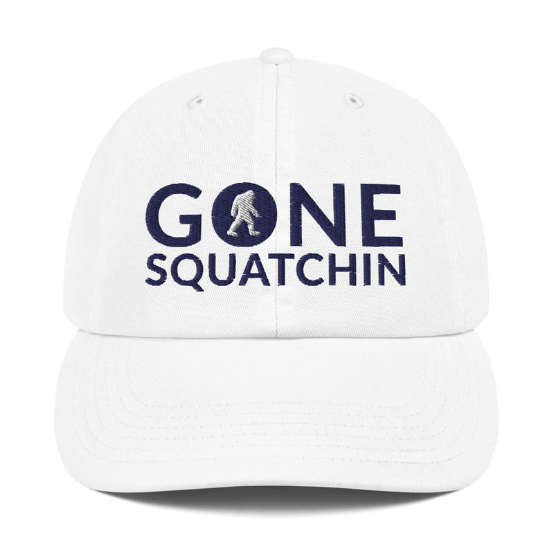 Gone Squatchin Champion Dad Cap - Go Wild Photography [description]  [price]