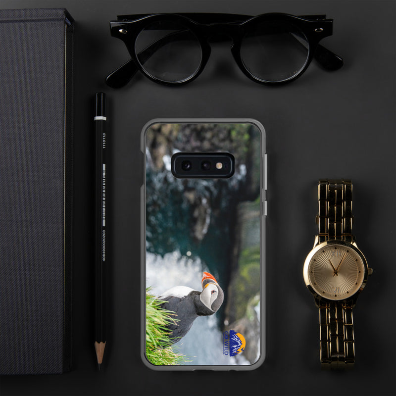 Puffin Cliffs Samsung Case - Go Wild Photography [description]  [price]