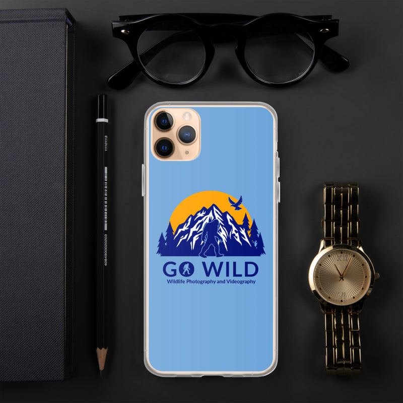 Go Wild Logo iPhone Case - Go Wild Photography [description]  [price]