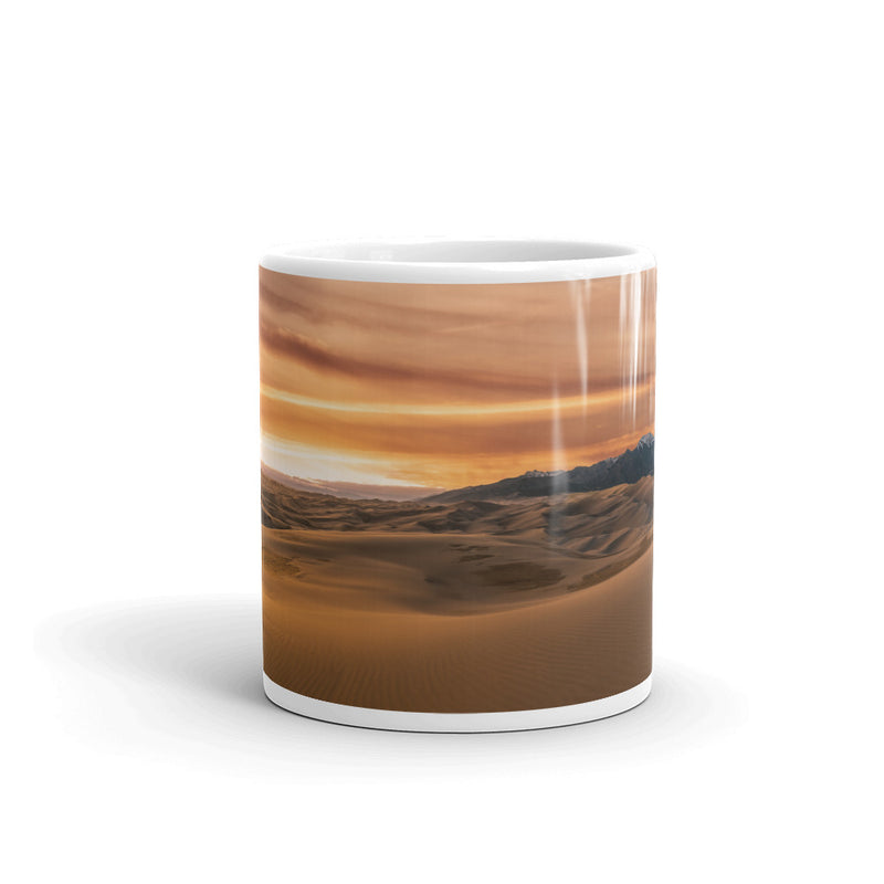 Great Sand Dunes Coffee Mug - Go Wild Photography [description]  [price]