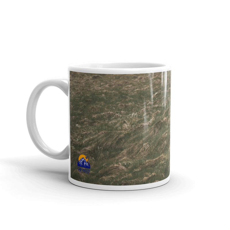 Into the Wind Coffee Mug - Go Wild Photography [description]  [price]