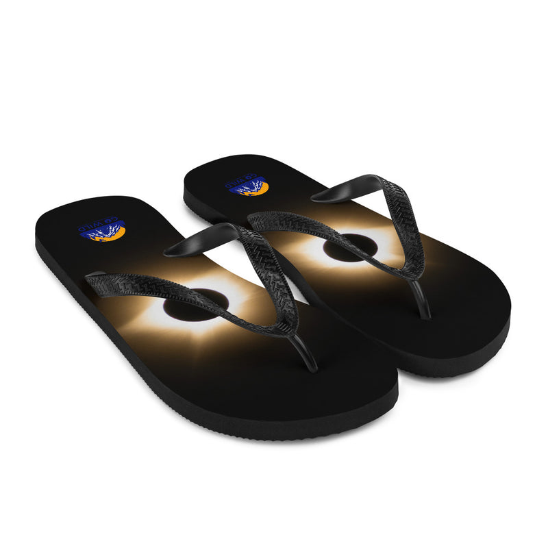 Total Eclipse Flip-Flops - Go Wild Photography [description]  [price]