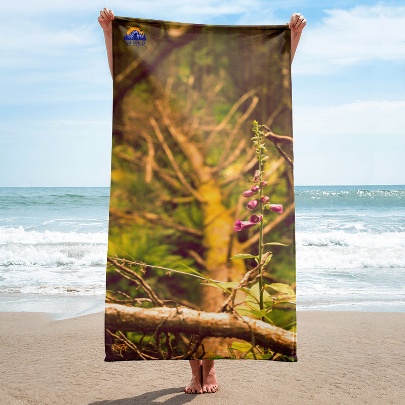 Life Finds a Way Towel - Go Wild Photography [description]  [price]