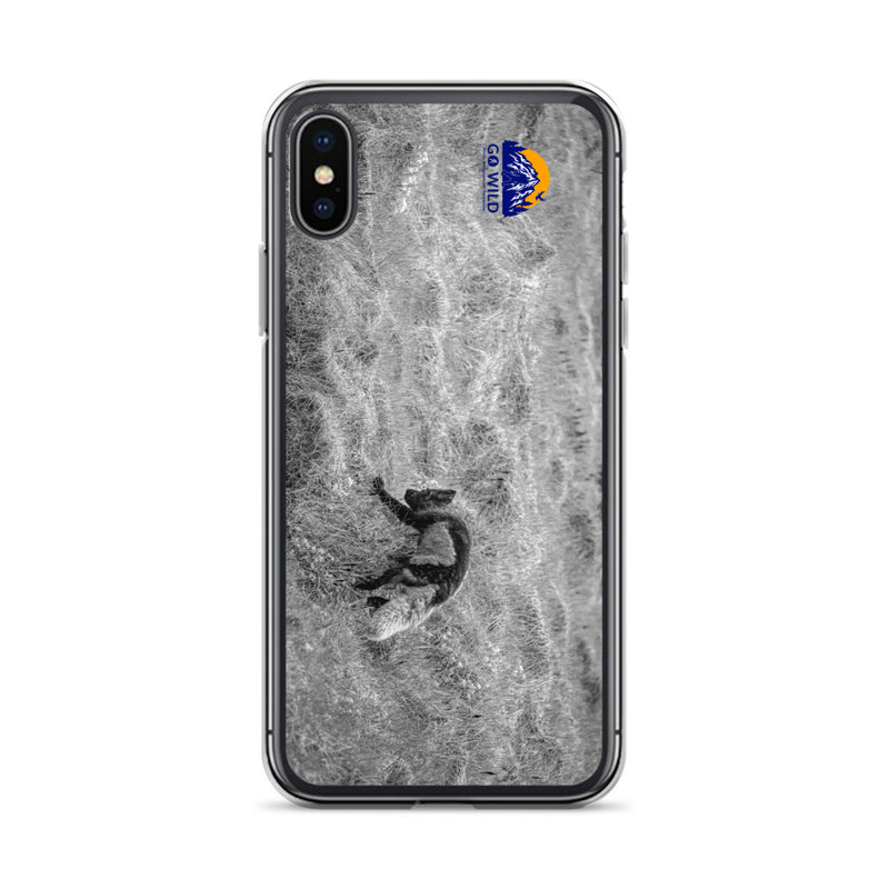 Black and Arctic Fox iPhone Case - Go Wild Photography [description]  [price]