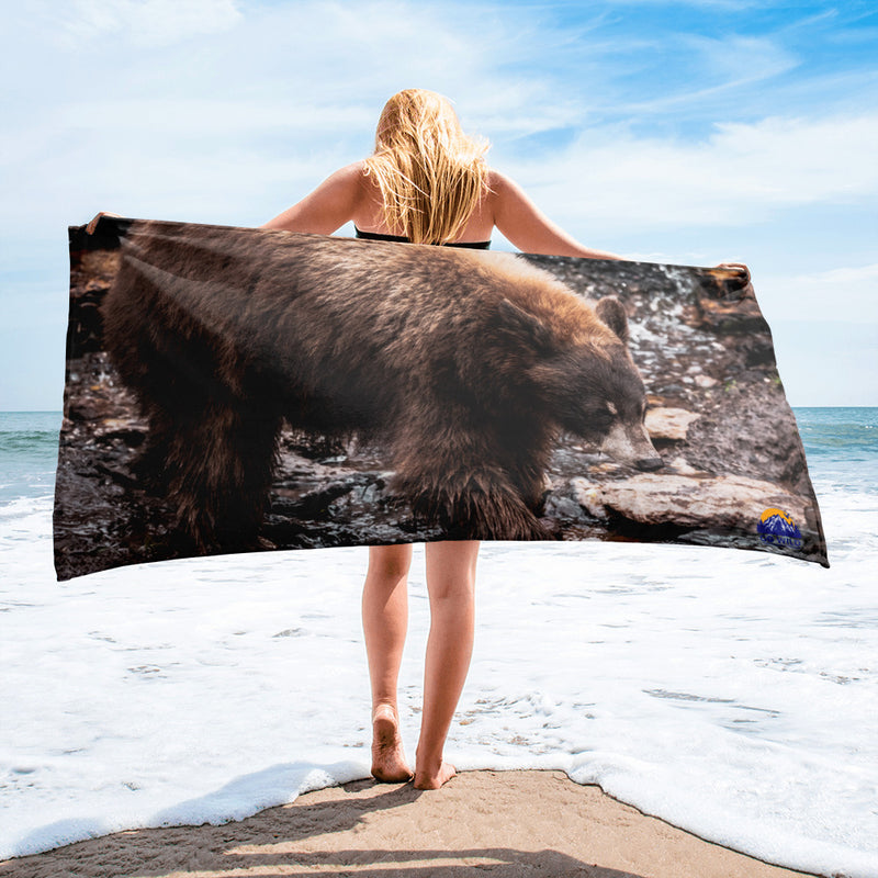 Morning Stroll Towel - Go Wild Photography [description]  [price]