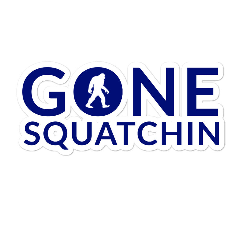 Gone Squatchin Bubble-free stickers - Go Wild Photography [description]  [price]