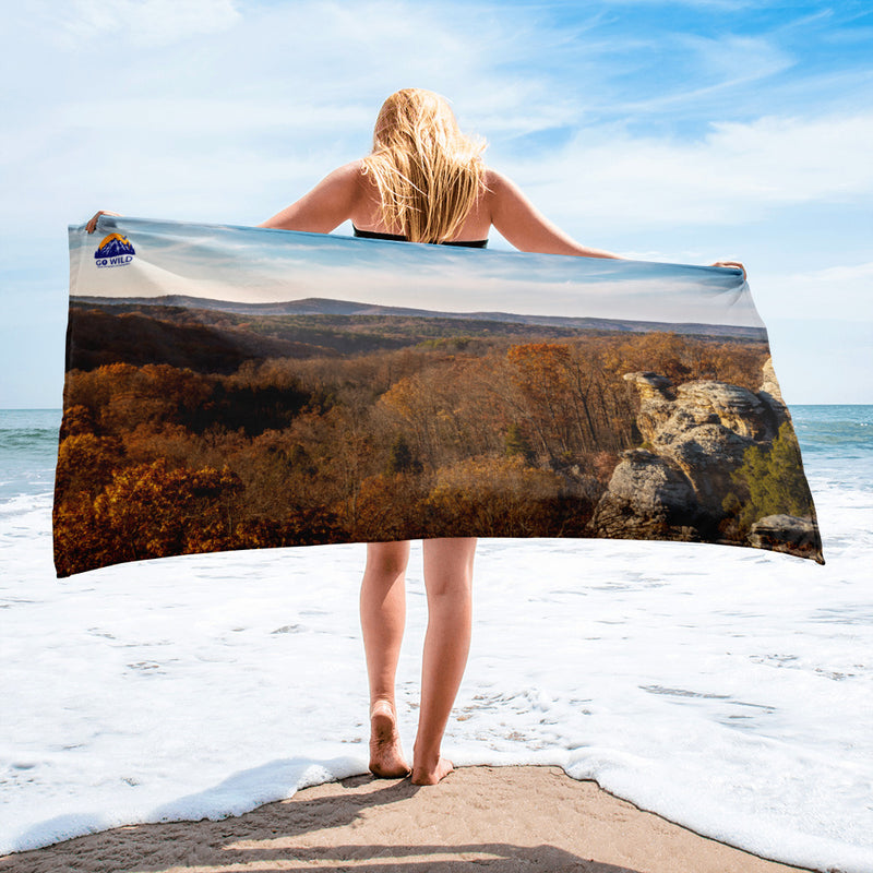 Camel Rock Towel - Go Wild Photography [description]  [price]