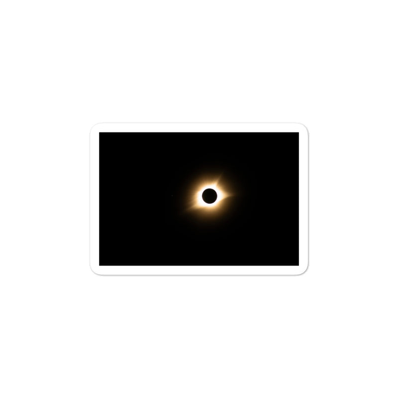 Total Eclipse Bubble-free stickers - Go Wild Photography [description]  [price]