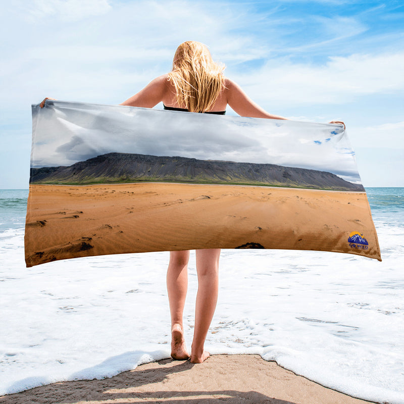 Red Sand Beach Towel - Go Wild Photography [description]  [price]