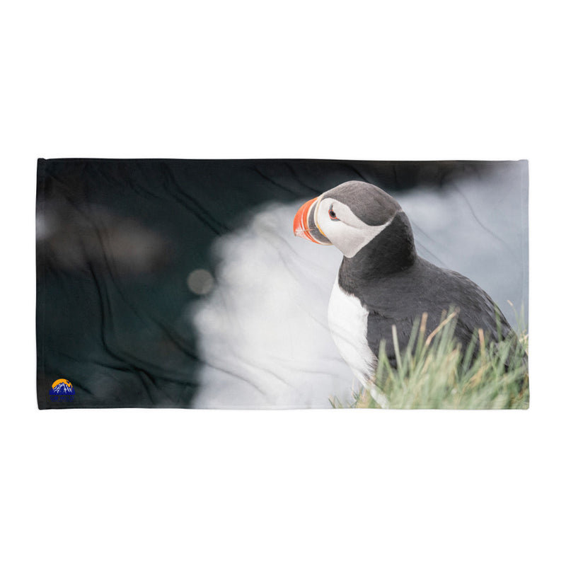 Stoic Puffin Towel - Go Wild Photography [description]  [price]
