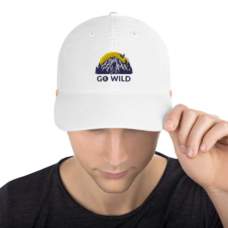 Go Wild Logo Champion Dad Cap - Go Wild Photography [description]  [price]