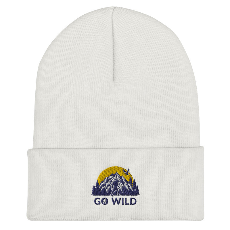 Go Wild Logo Cuffed Beanie - Go Wild Photography [description]  [price]