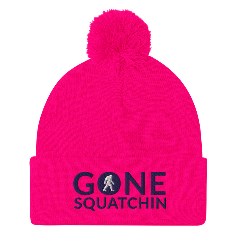 Gone Squatchin Pom-Pom Beanie - Go Wild Photography [description]  [price]