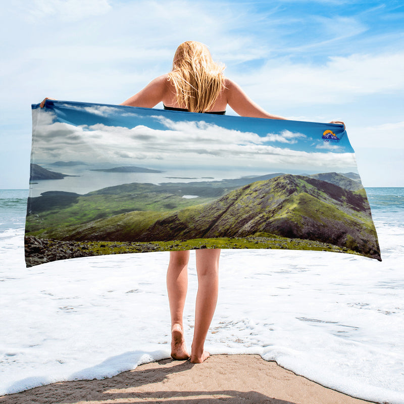 Atop Clishom Mountain Towel - Go Wild Photography [description]  [price]