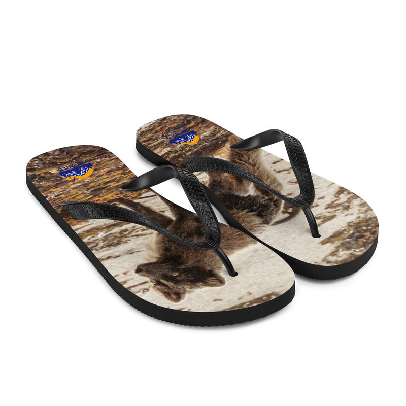 Vulpes Flip-Flops - Go Wild Photography [description]  [price]