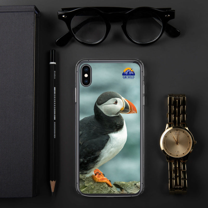 Atlantic Puffin iPhone Case - Go Wild Photography [description]  [price]