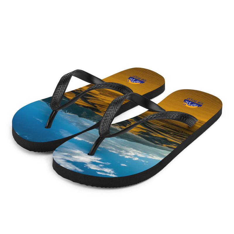 Mountain Dunes Flip-Flops - Go Wild Photography [description]  [price]