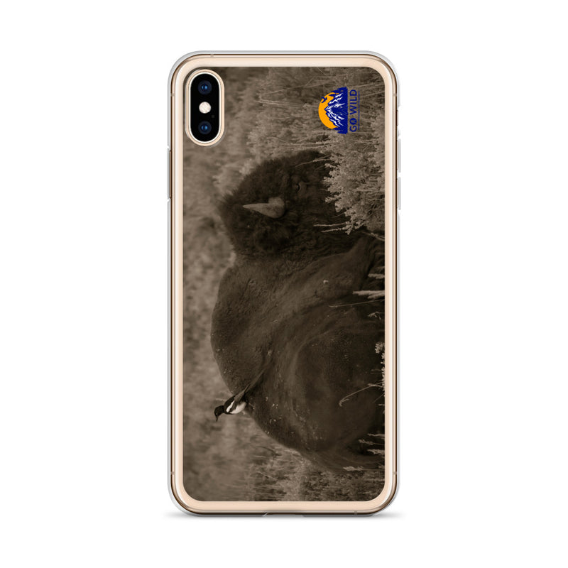 The Bison and the Magpie iPhone Case - Go Wild Photography [description]  [price]