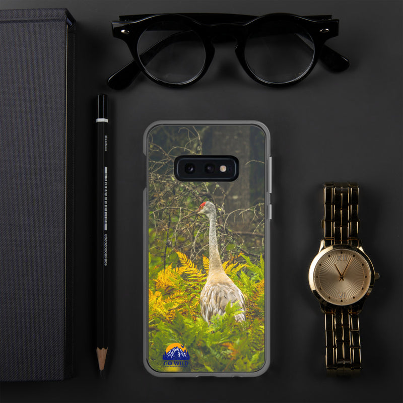Sandhill Crane Samsung Case - Go Wild Photography [description]  [price]