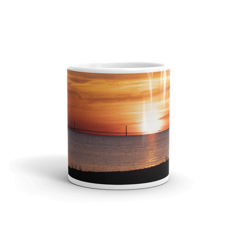 Mackinaw Bridge Coffee Mug - Go Wild Photography [description]  [price]