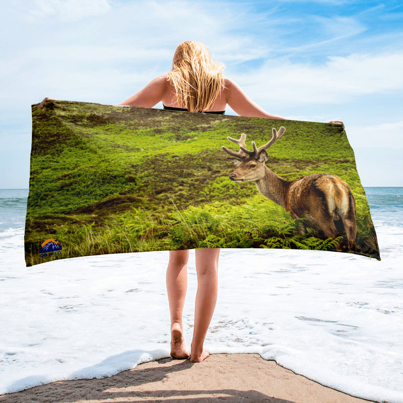 Prince of the Forest Towel - Go Wild Photography [description]  [price]