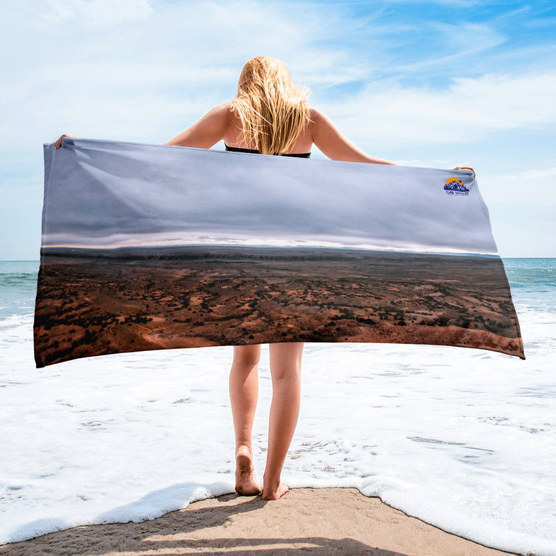 The Land of the Crows Towel - Go Wild Photography [description]  [price]