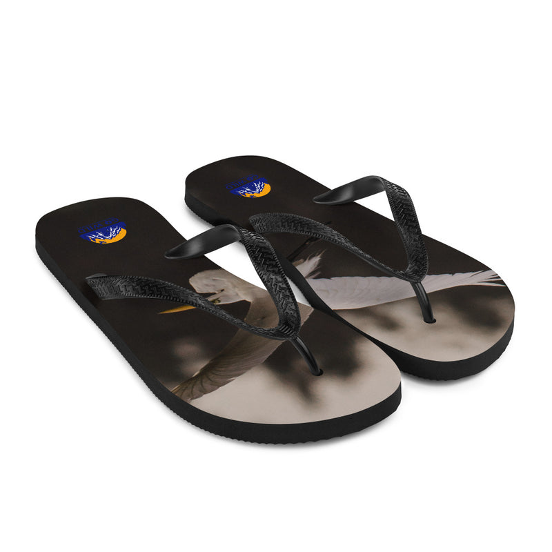 Cattle Egret Flip-Flops - Go Wild Photography [description]  [price]