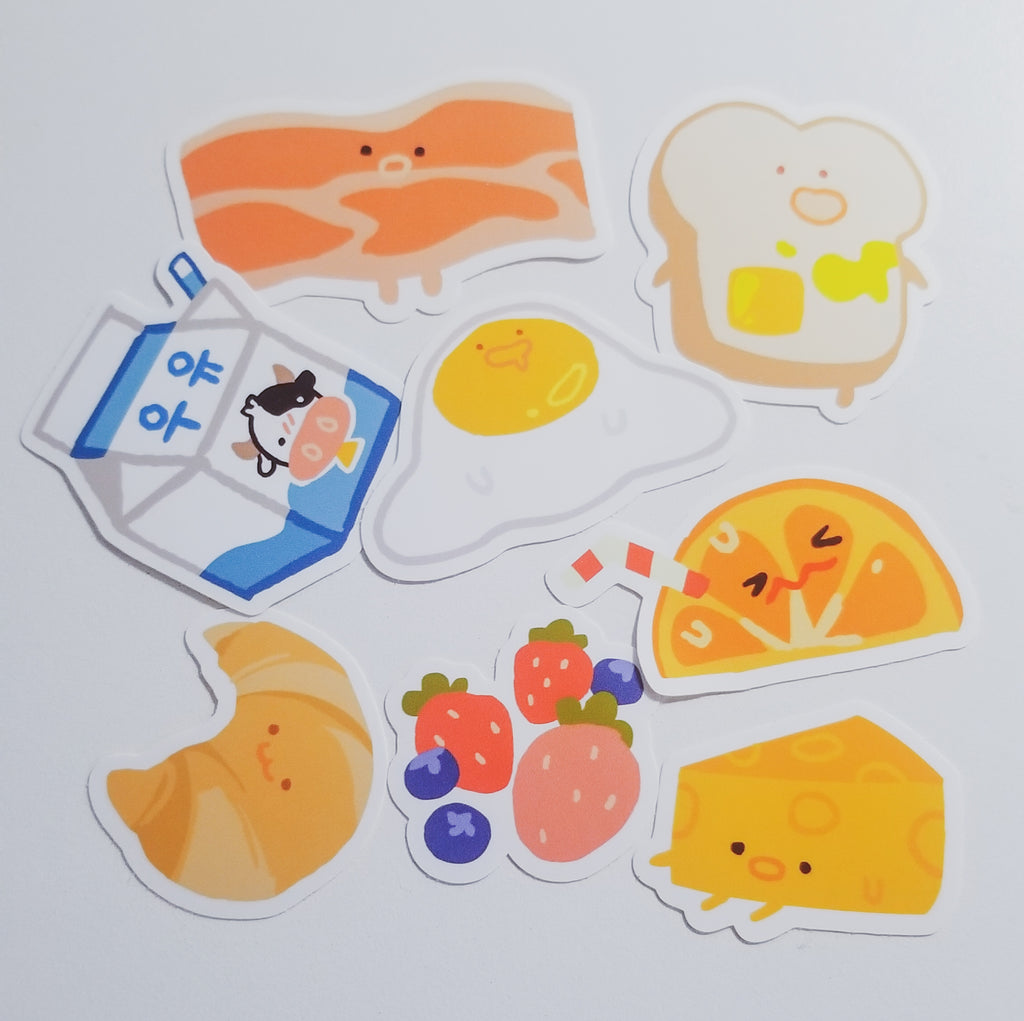 BREAKFAST SPECIAL sticker sheet
