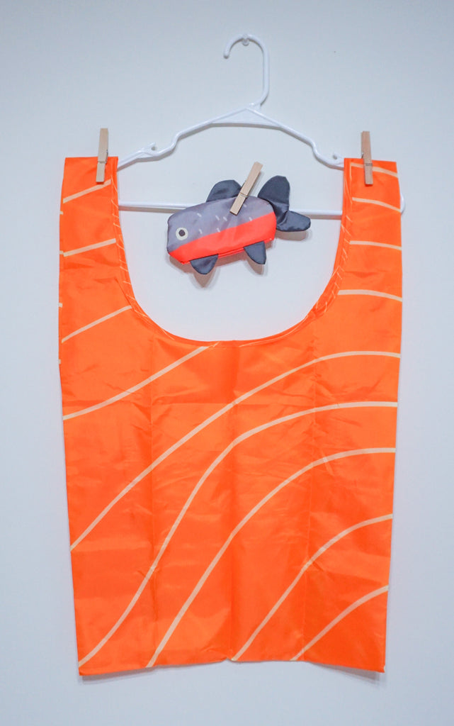 SALMON SASHIMI REUSABLE SHOPPING BAG