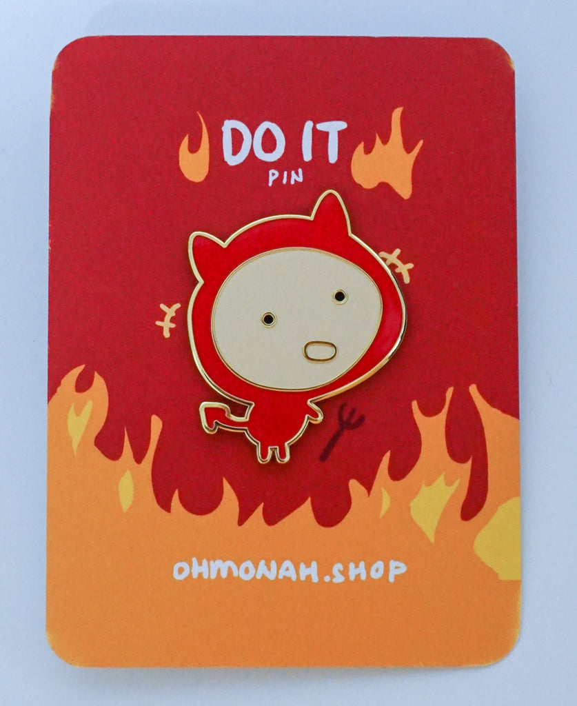 DO IT Enamel Pin