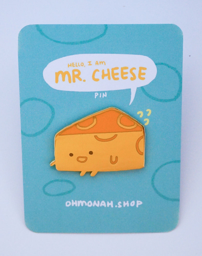 MR CHEESE Enamel Pin