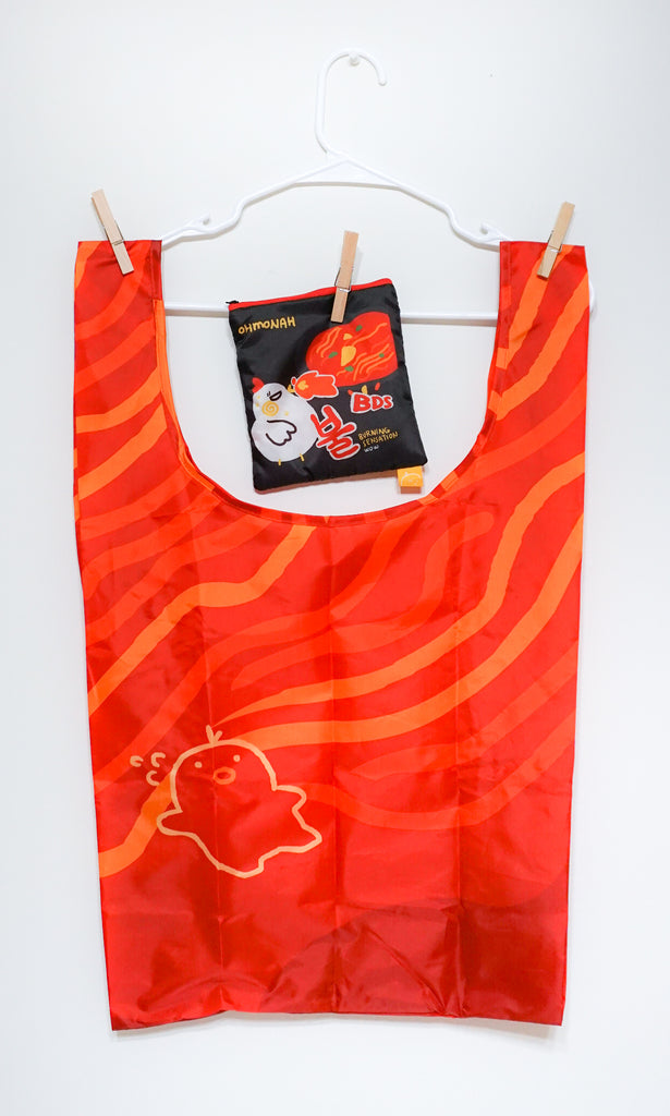 FIRE NOODLES reusable shopping bag