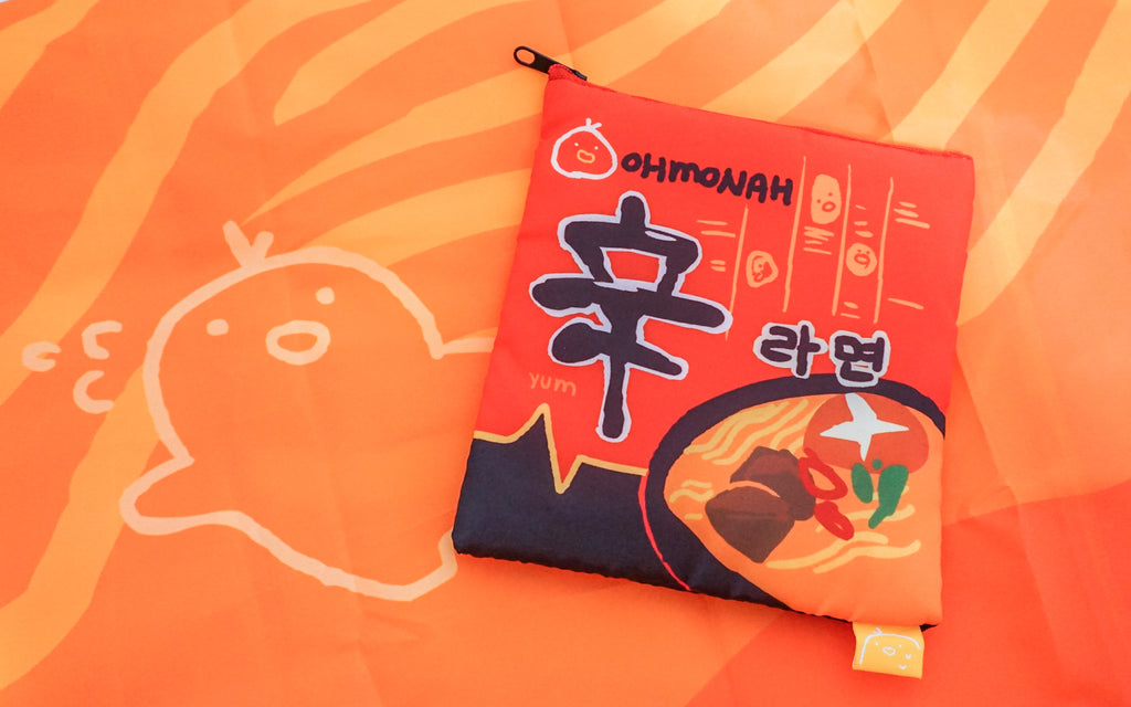 SHIN RAMEN reusable shopping bag