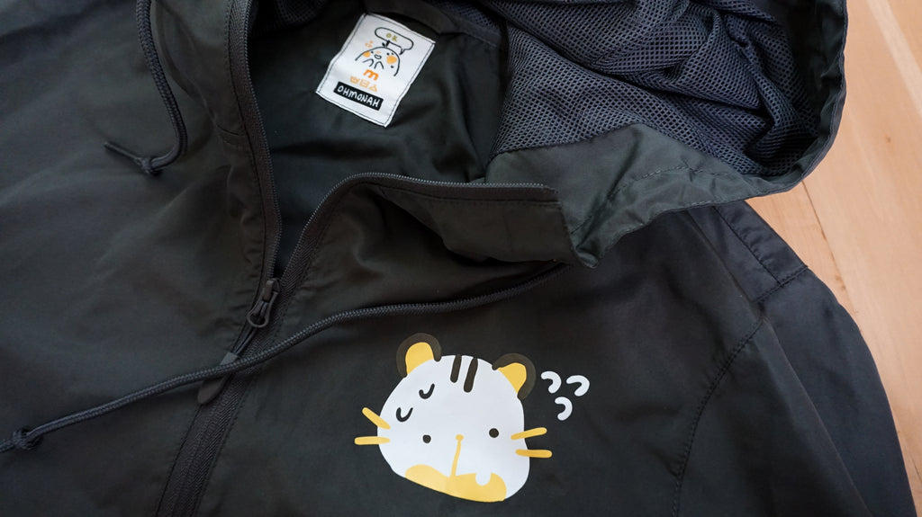 SHY TIGER light windbreaker jacket