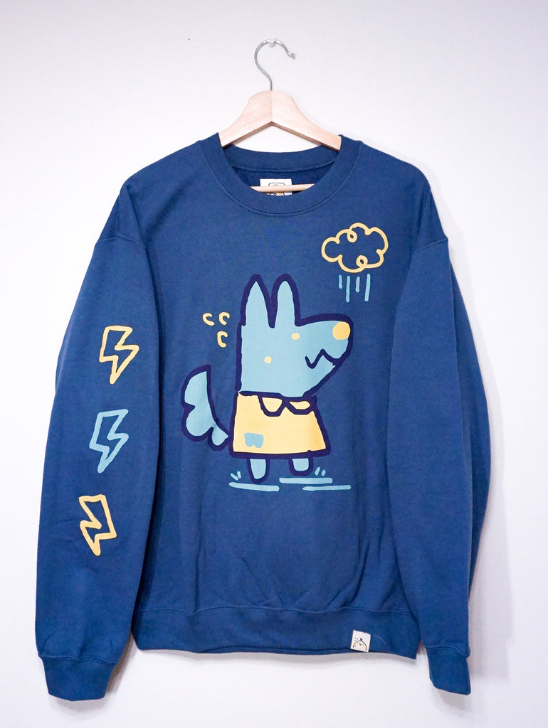 WOLF THUNDER sweater