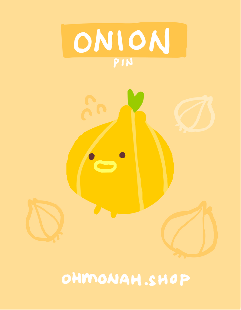 ONION Enamel Pin