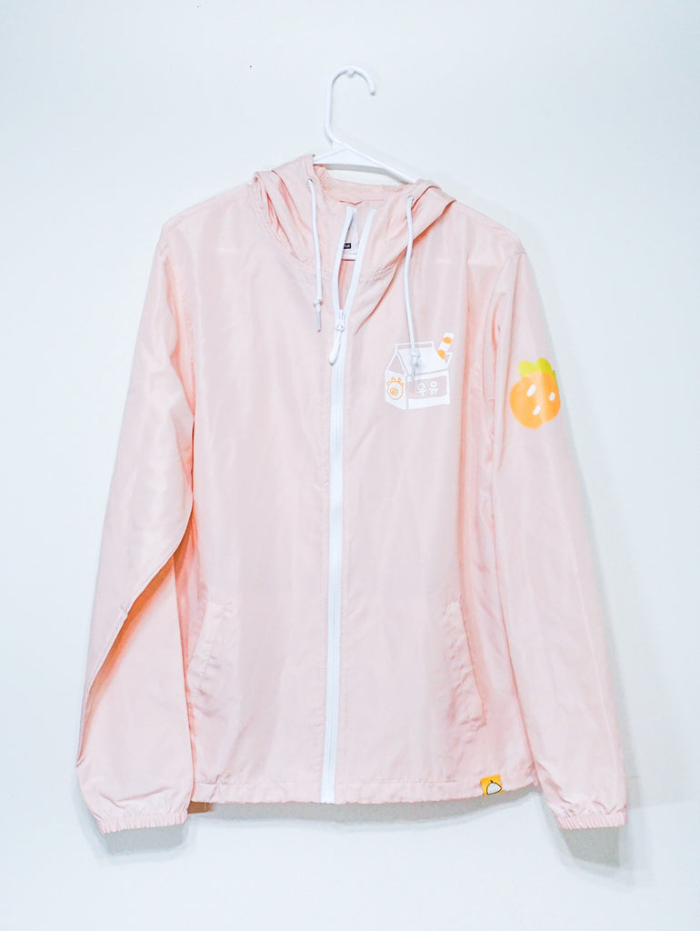 MOO MOO MILK - Strawberry light windbreaker jacket