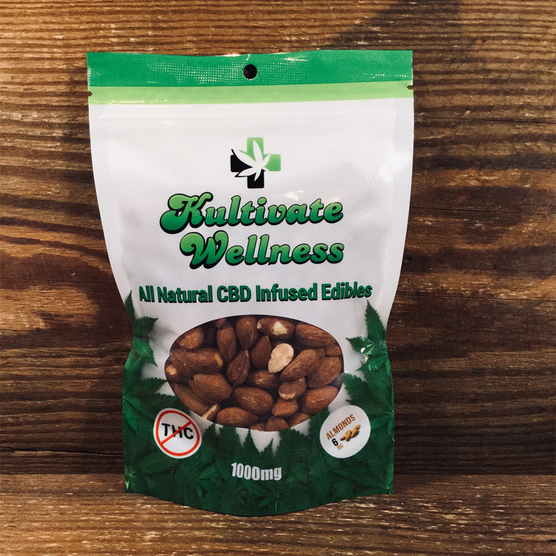 KW Almonds 6mg - Kultivate Wellness