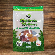 Load image into Gallery viewer, KW Broad Spectrum CBD Gummy Bears 25mg - Kultivate Wellness